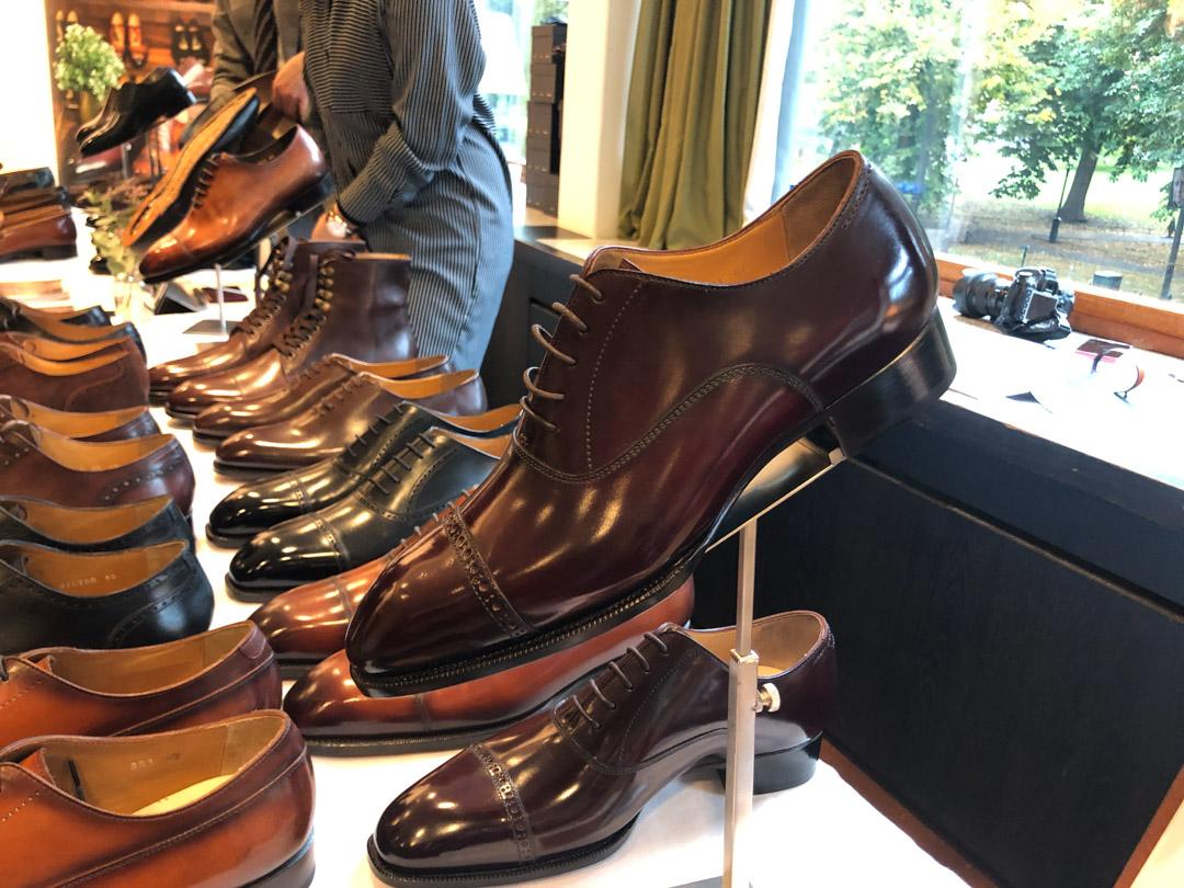 CNES Shoemaker Cordovan Oxford