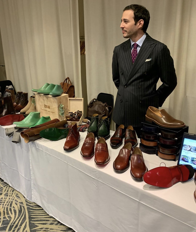 Kostas Mandilaris of The Noble Shoe