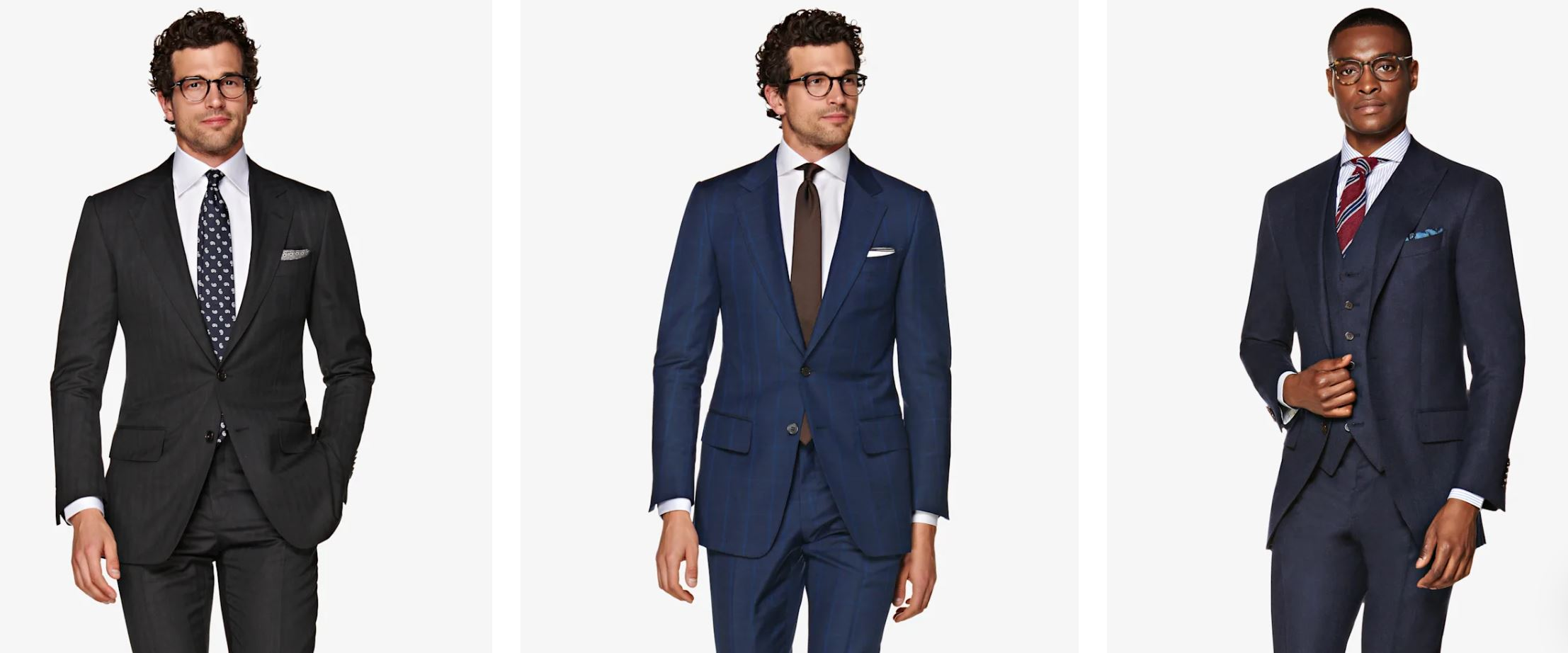 Suitsupply Suit Fits - The Washington is perfect for those that seek an extra slim cut