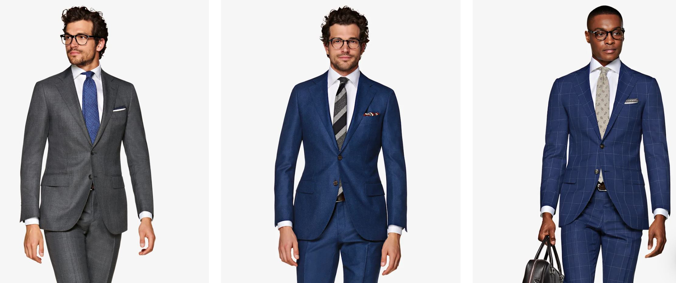 Suitsupply Suit Fits - The Lazio is a modern slim model