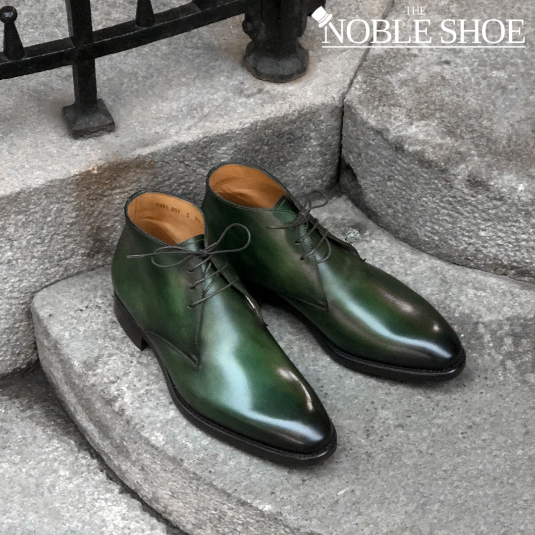 The Noble Shoe Carlos Santos Patina Service