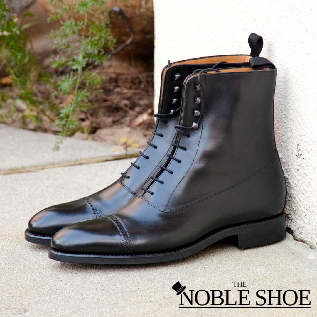 shoe news december 2019 - carlos santos handgrade balmoral boot for the noble shoe