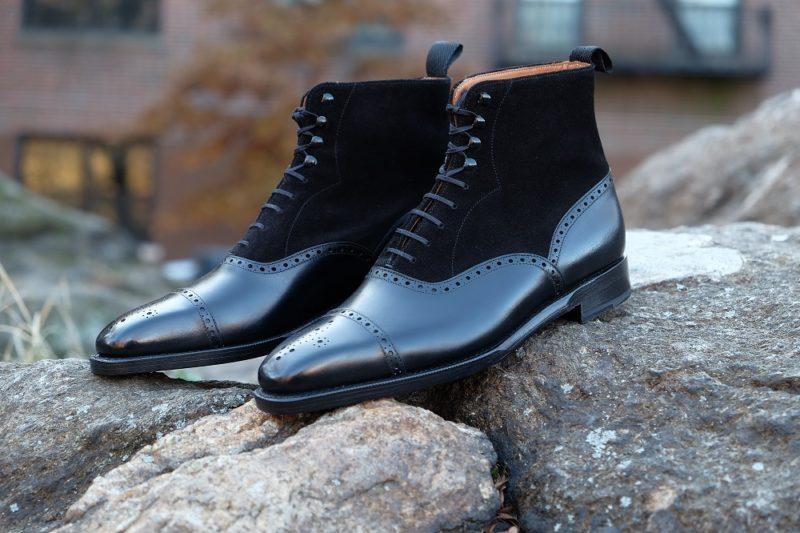Shoe News November 2019 - David Balmoral Boot by Justin Fitzpatrick