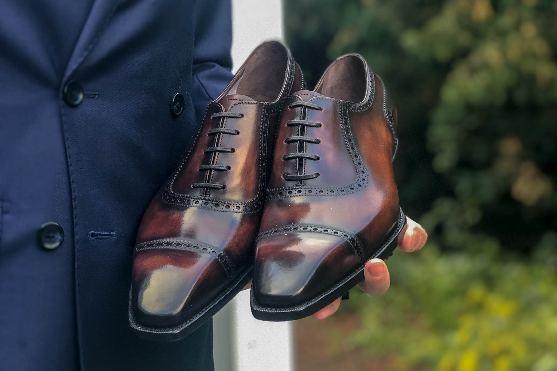 The Noble Shoe Handcrafted Adelaide Oxford