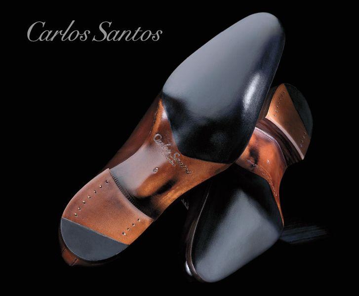 Example of the Carlos Santos Handcrafted Sole