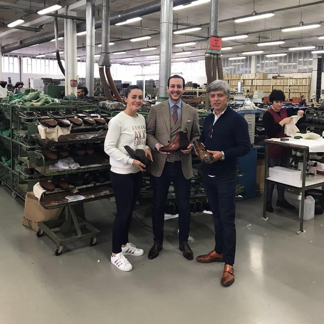 The Noble Shoe Meets Ana and Carlos Santos - Carlos Santos Factory Visit 2020