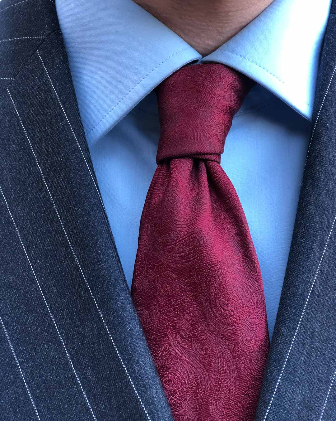 Pinstripe Suit Guide - Suit and Tie