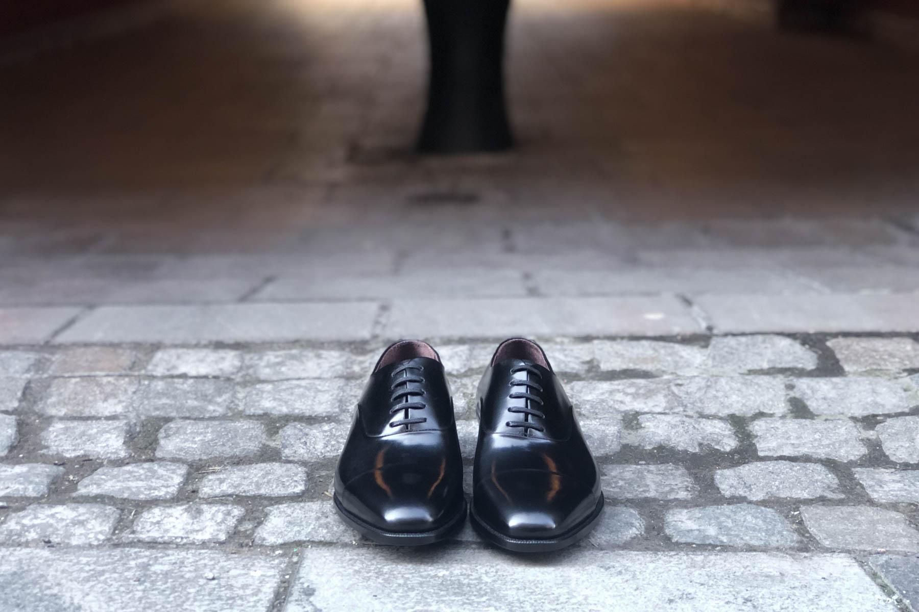 Best Looking Black Oxford - Carlos Santos 9899 Handgrade Oxford in Black Calf for The Noble Shoe 2