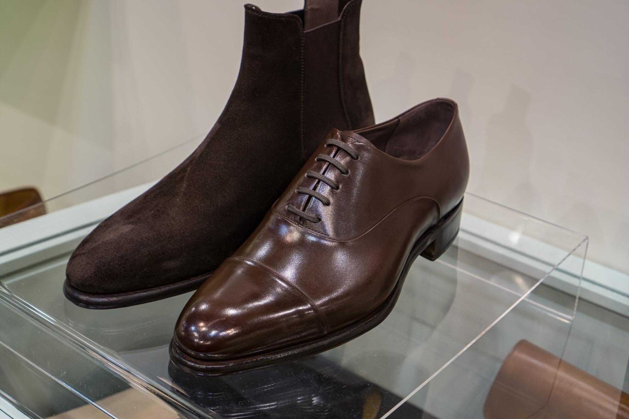 Carlos Santos 9899 Handgrade Oxford in Dark Oak Calf for The Noble Shoe 2