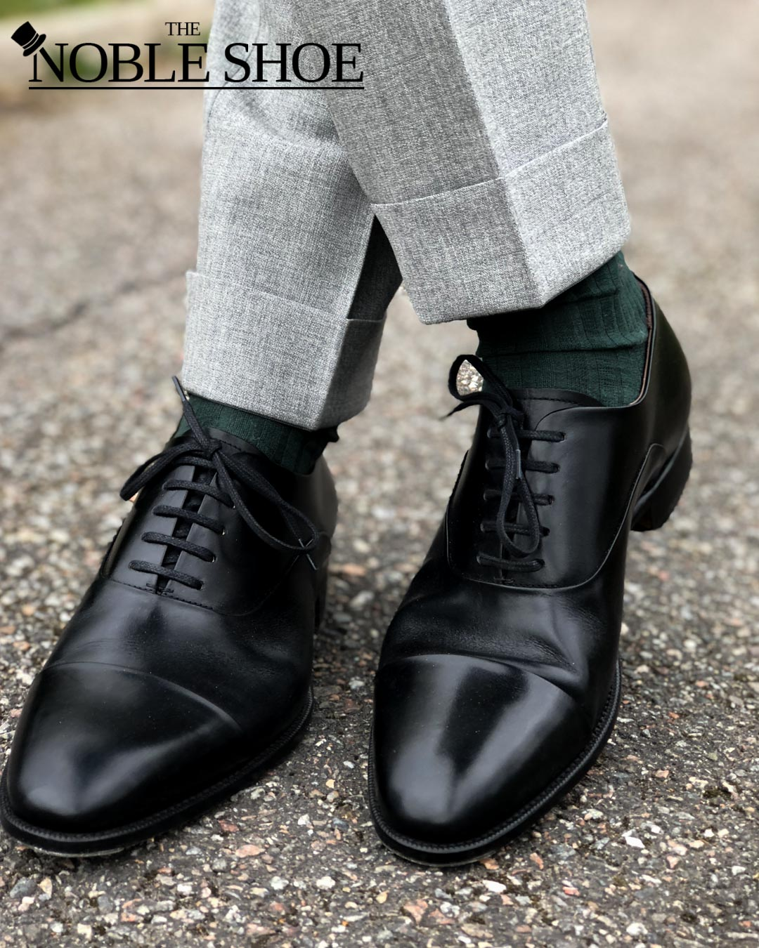 Black Oxfords from The Noble Shoe