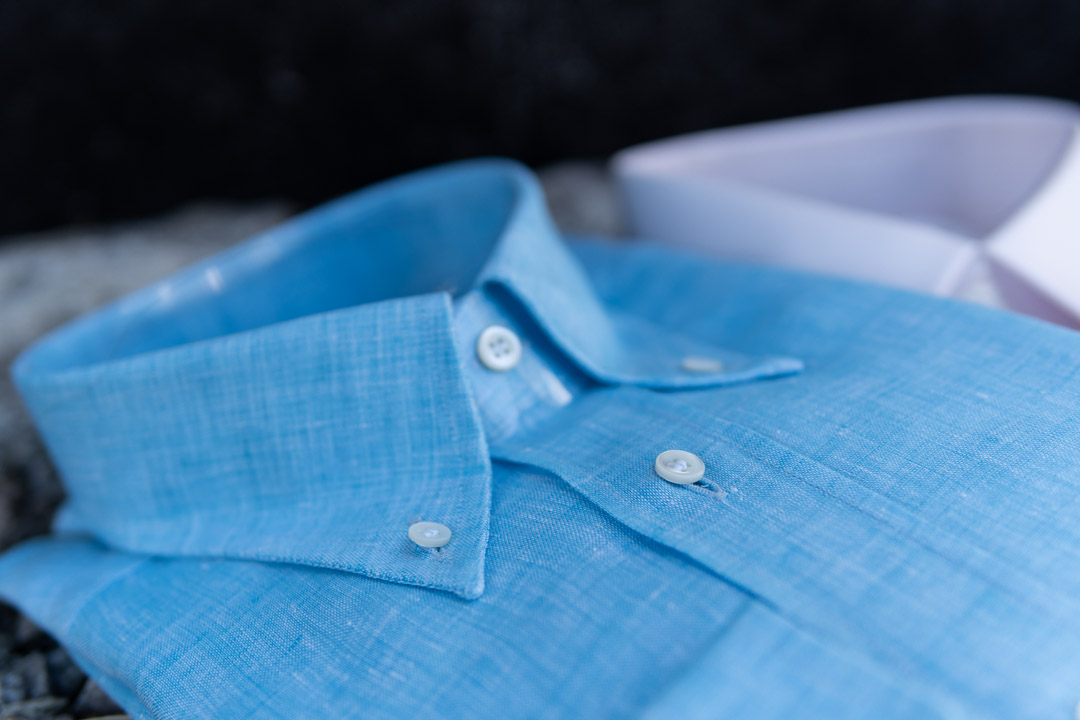 How many shirts should a man have? Apposta Linen Shirt