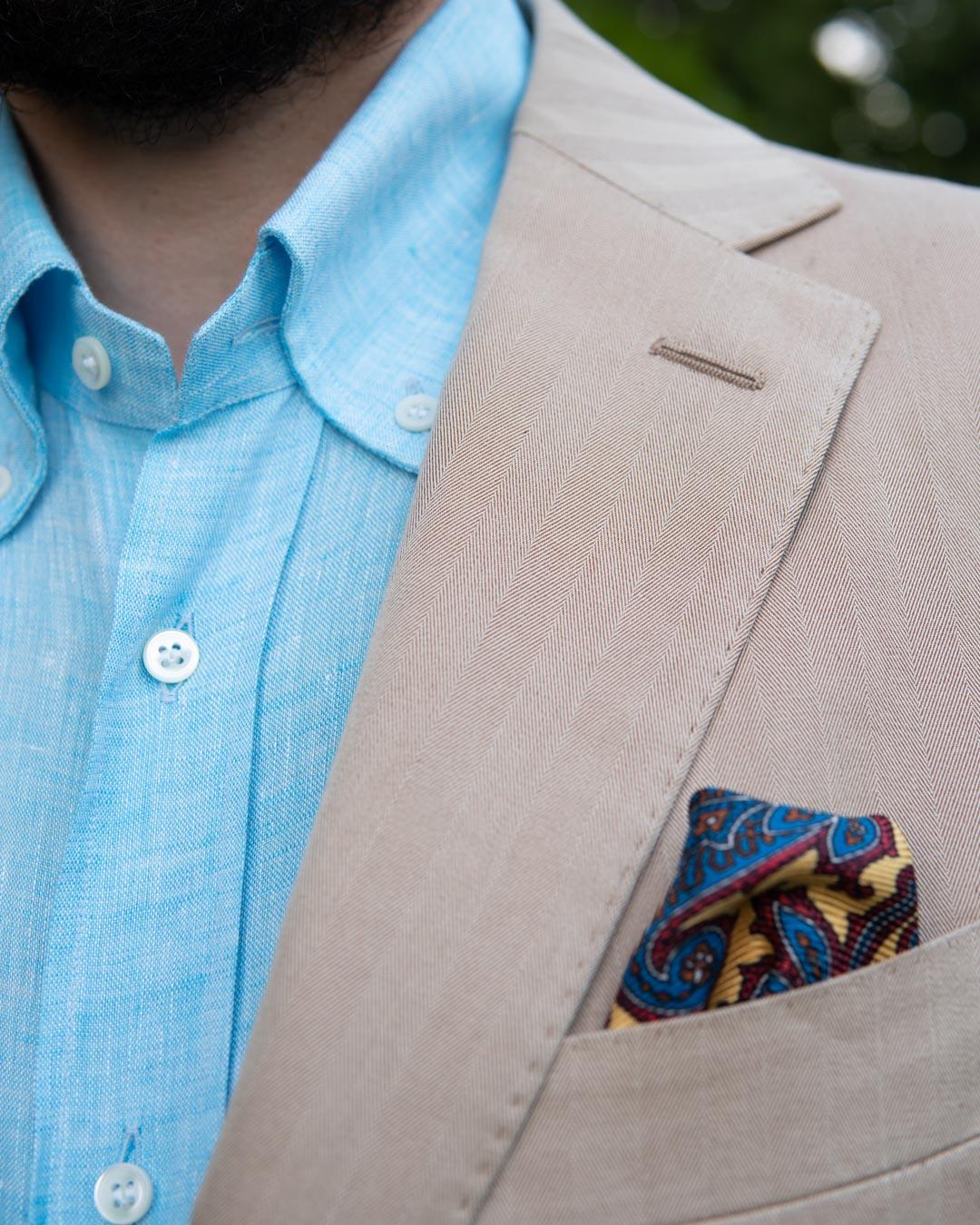 Suitsupply Solaro Suit & Linen Shirt