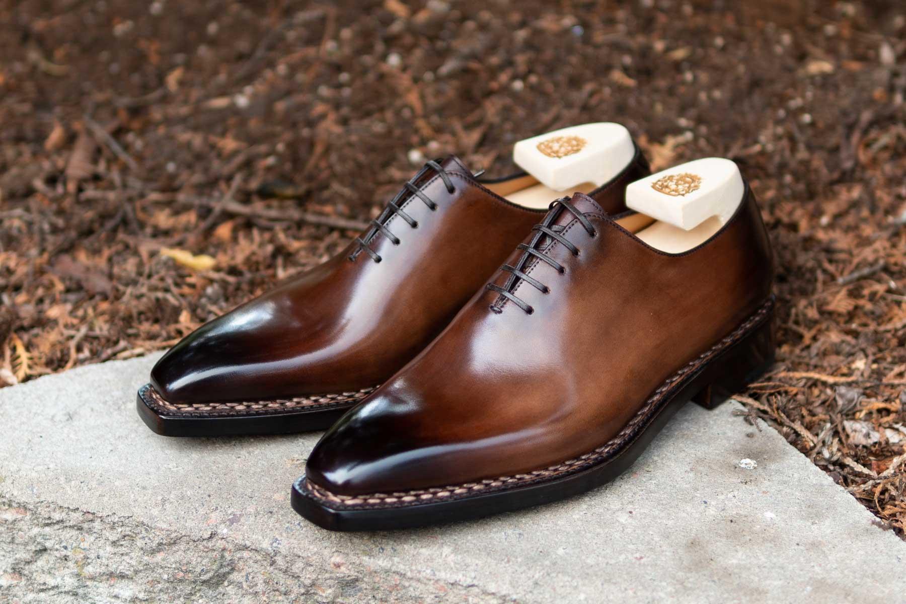 Paolo Scafora 17-5B Wholecut Oxford in Montella Calf for The Noble Shoe 2
