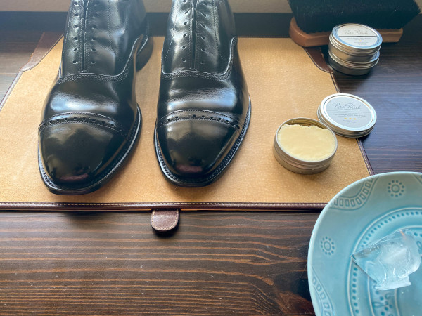how to polish shoes - mirror shine guide 15
