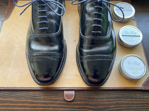 how to polish shoes - mirror shine guide 21