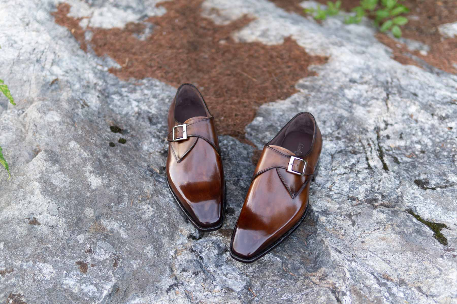 carlos santos single monk straps from the noble shoe