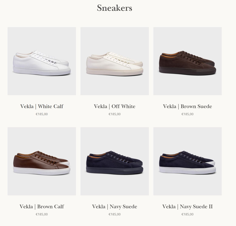 welted news september 2020 - Vekla Sneakers