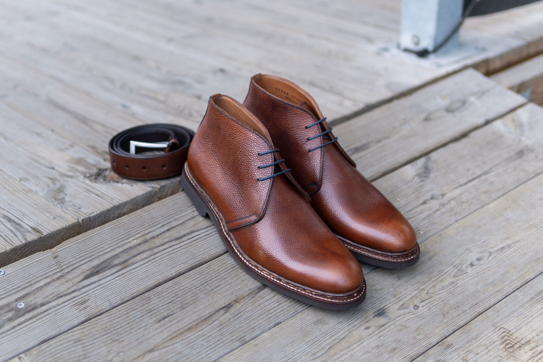 George Lyon Shoes Review Chukkas and Belt