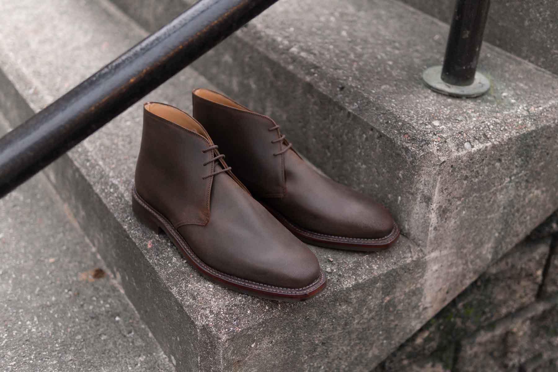 Crockett & Jones Molton Chukka Boots for The Noble Shoe