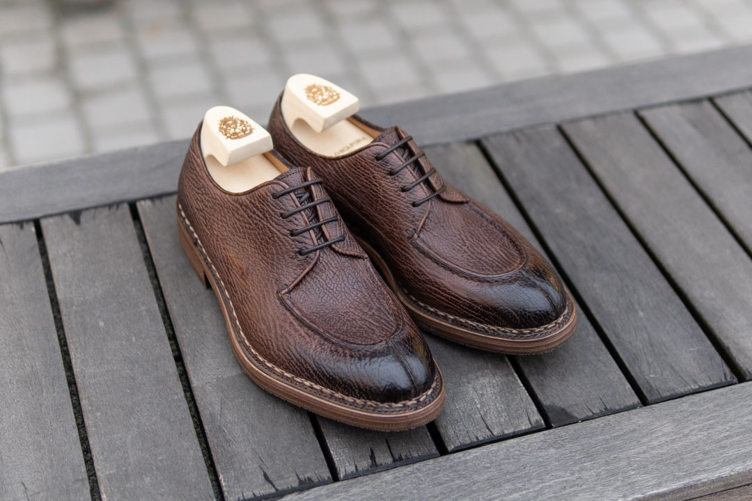 Paolo Scafora Derby Shoes with Shoe Trees