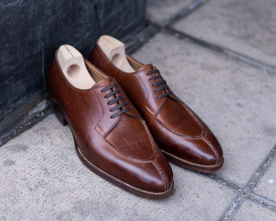 Saint Crispin's Shoes Review Split-Toe Derby