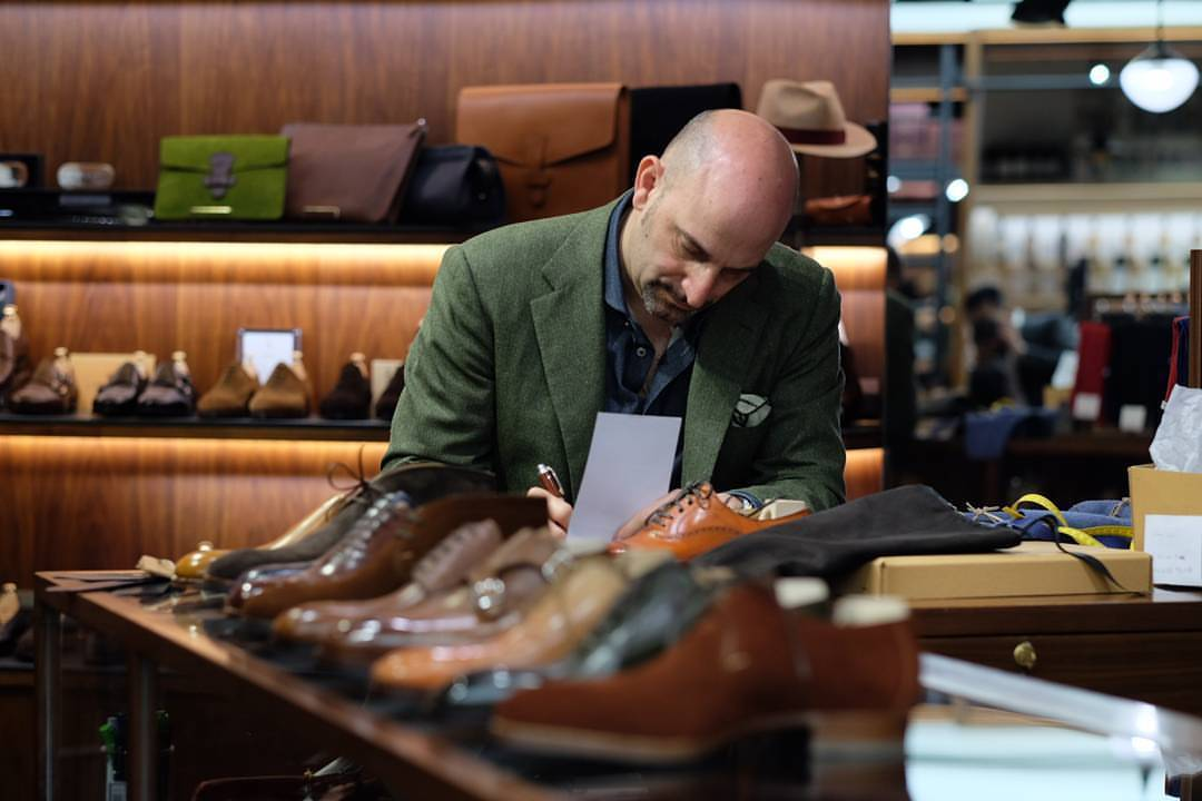 Phillip Car, Owner and CEO of Sain't Crispin's Shoes | Picture from the Armoury