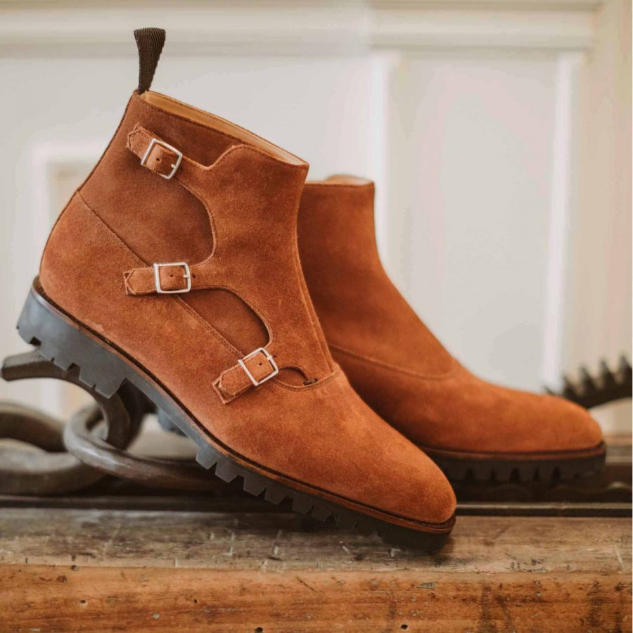 Septieme Largeur Tobar Triple Monk Boots