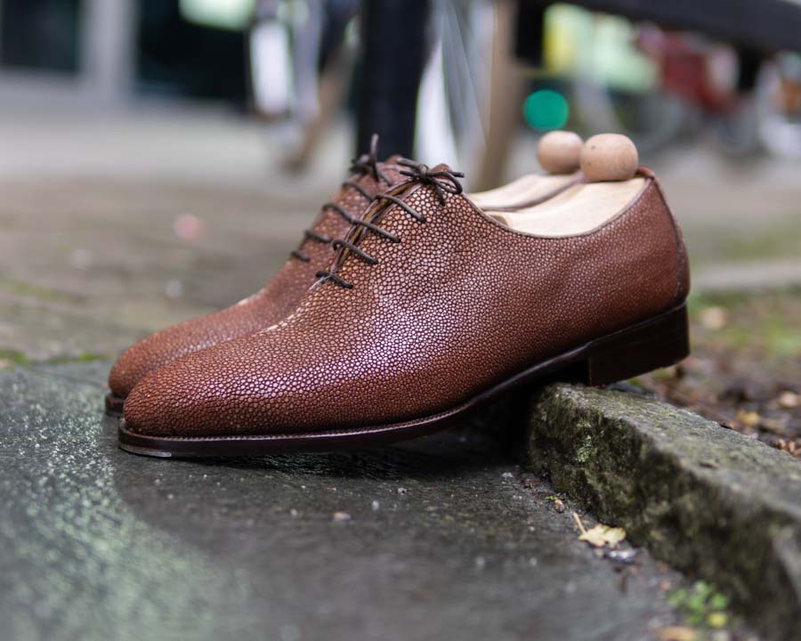 Brown Stingray Shoes