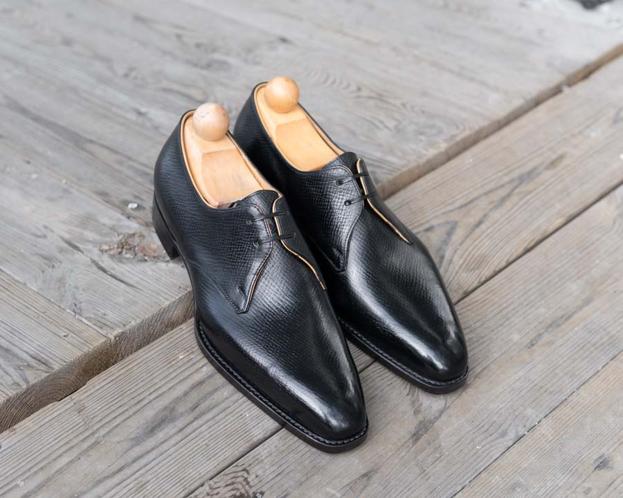 Passus Shoes Review | Tom Derby in Black Hatch Grain