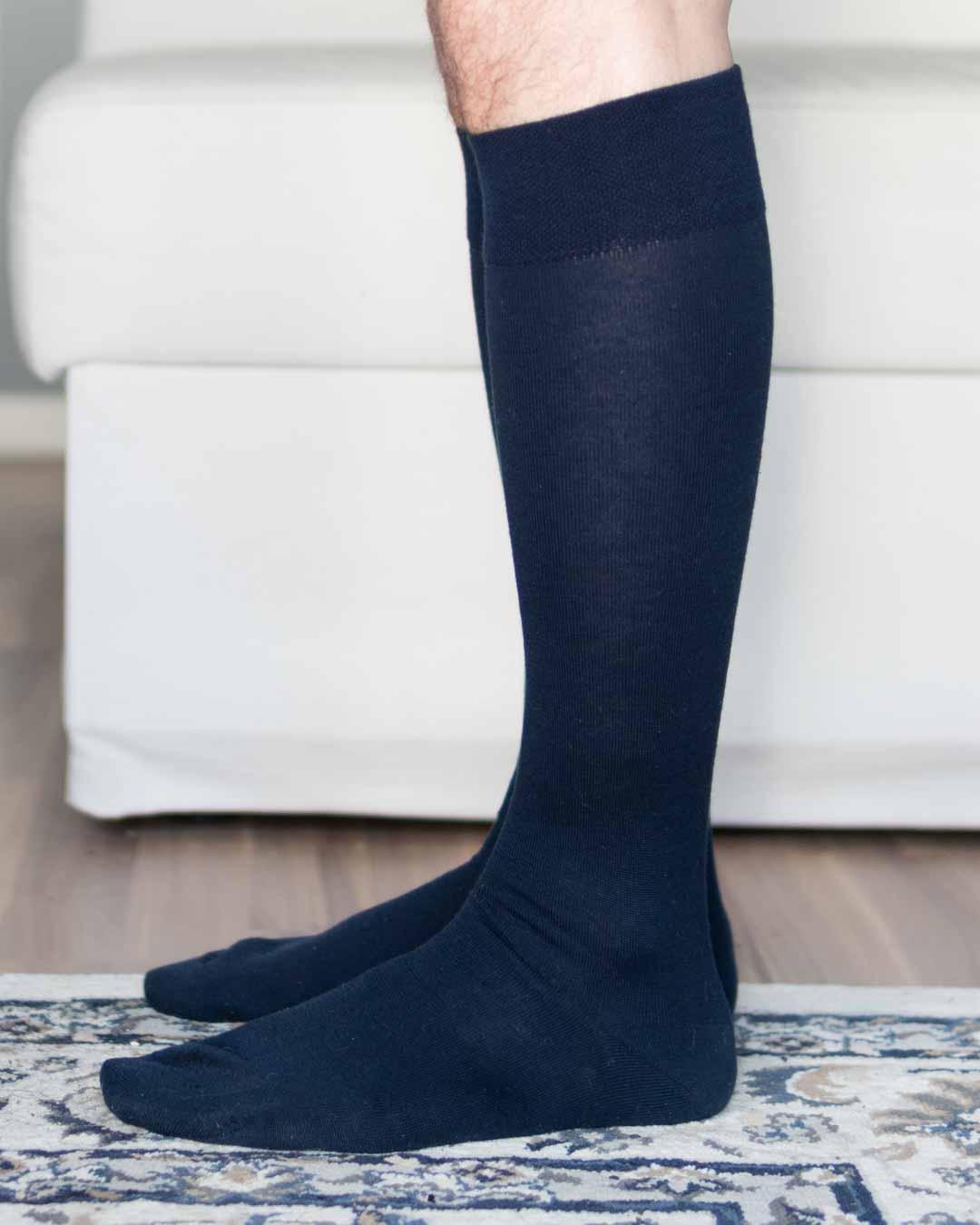 Viccel Cashmere Navy Socks