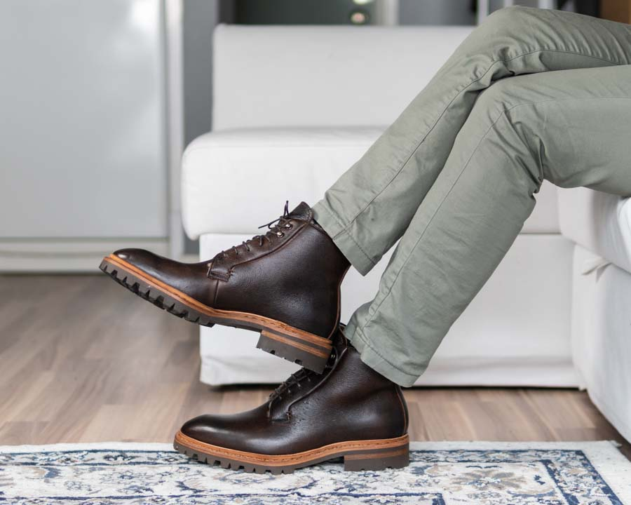 the noble shoe 2021 - boots and chinos