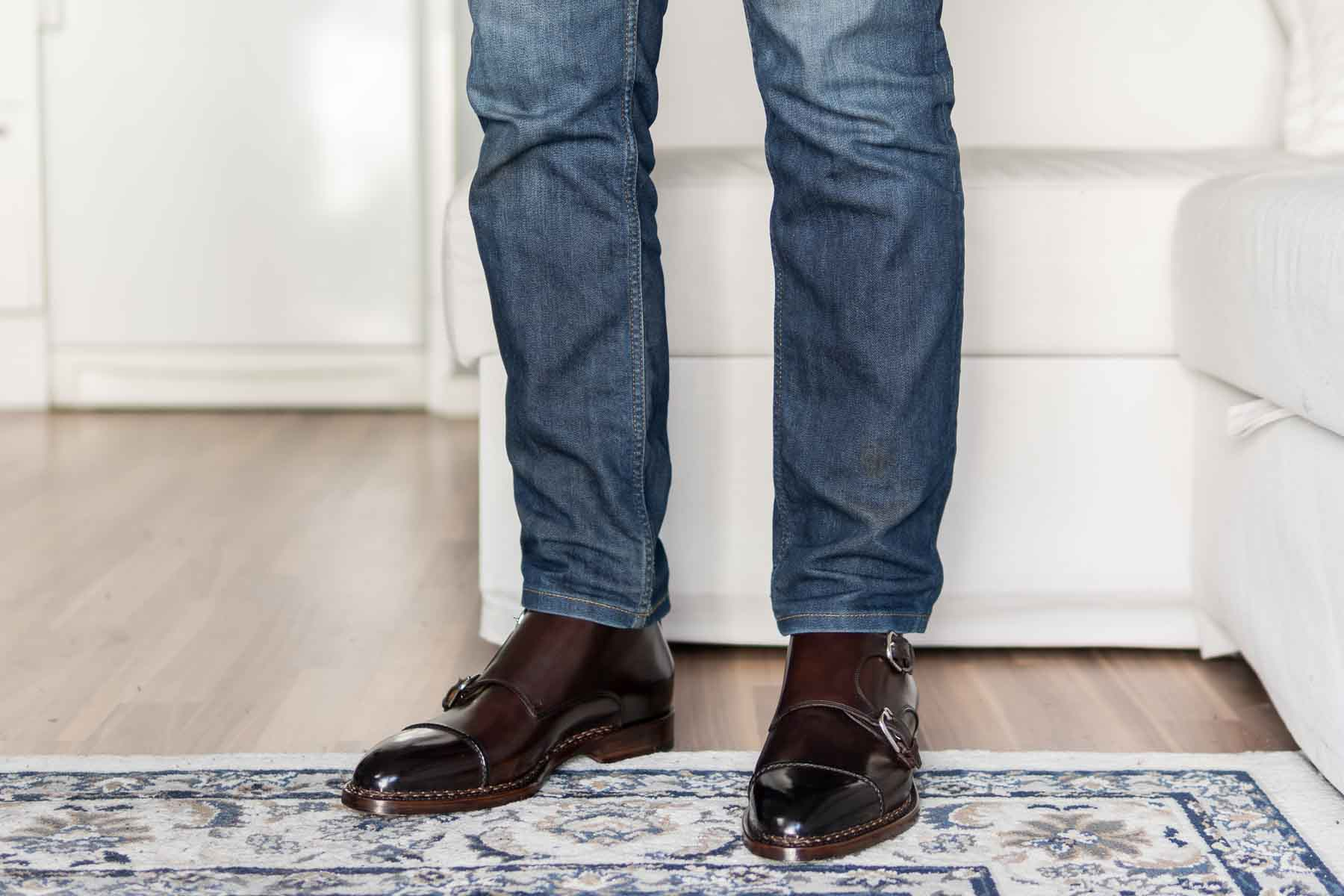 Paolo Scafora Double Monk Boots Review
