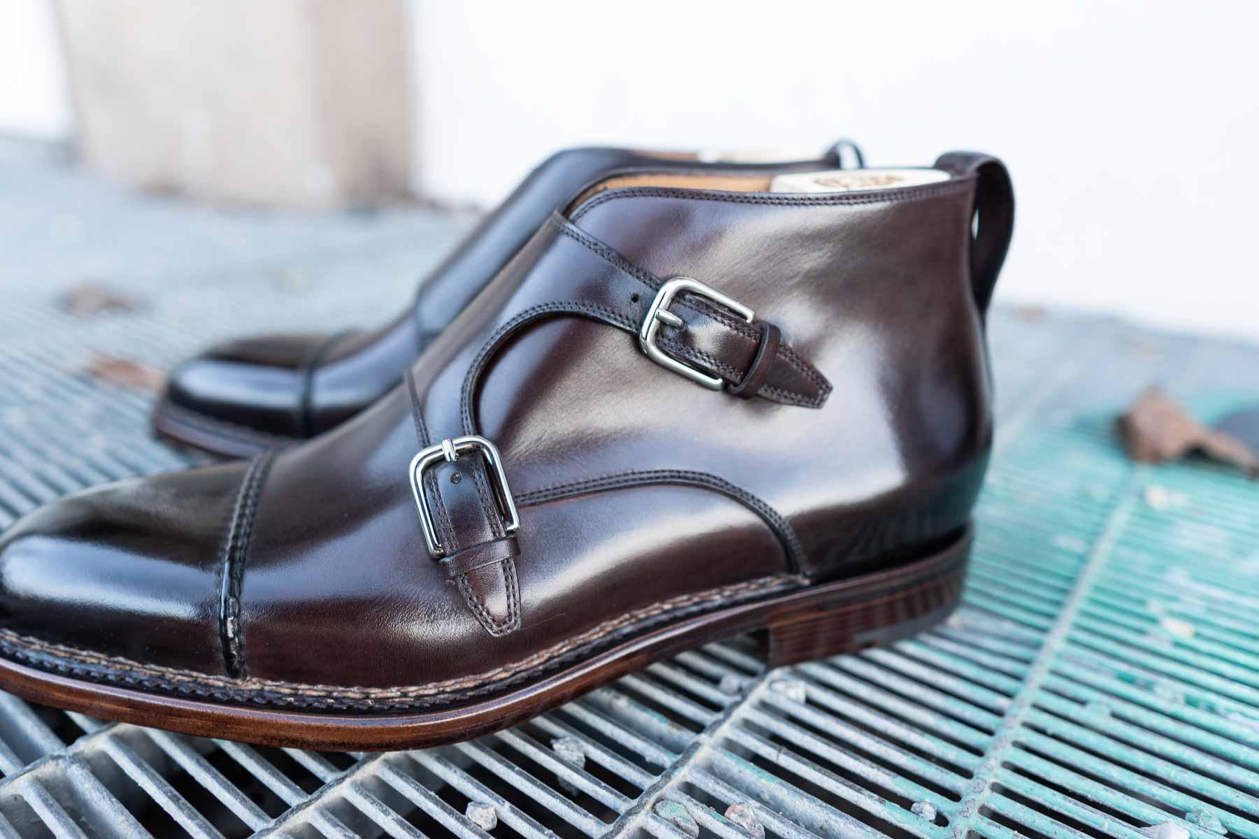 monk boot buckle