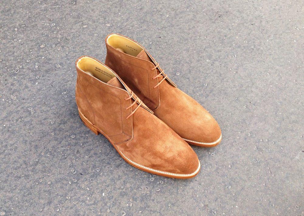The Gaspard Chukka Boots by Caulaincourt