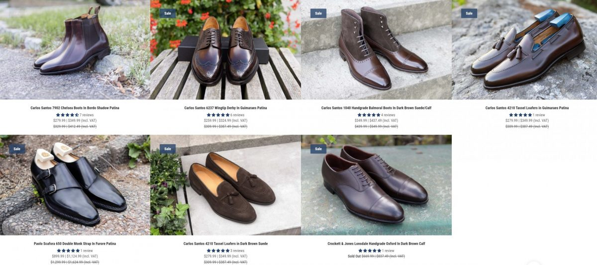 Summer Sales 2021   The Noble Shoe Discontinued Sales