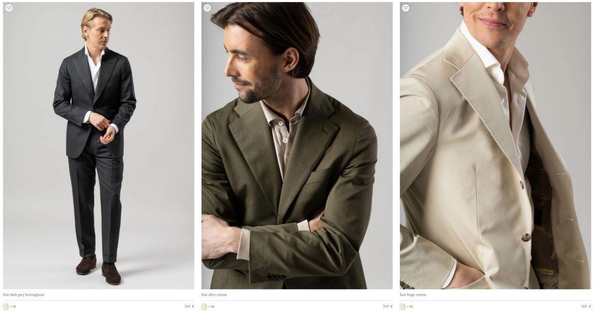 Blugiallo Custom Suits