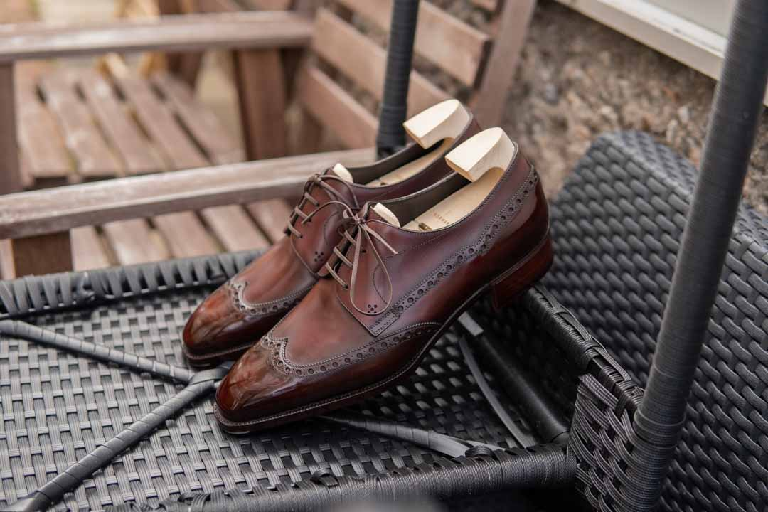 Norman Vilalta Shoes on chair