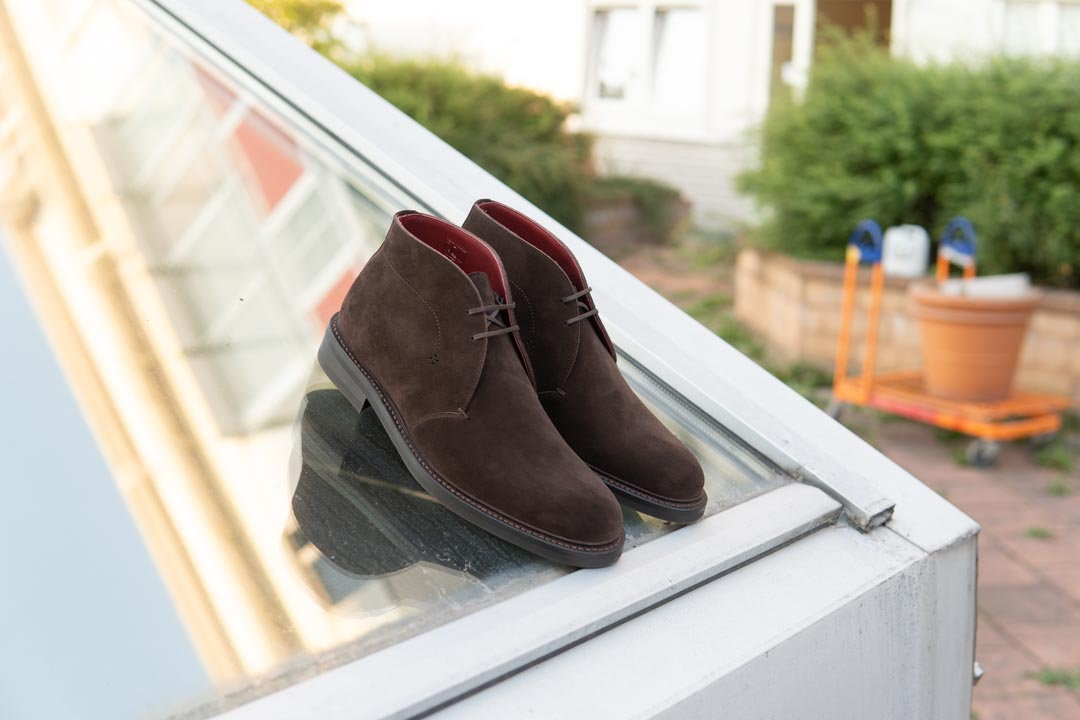 Suede Chukka Boots Review