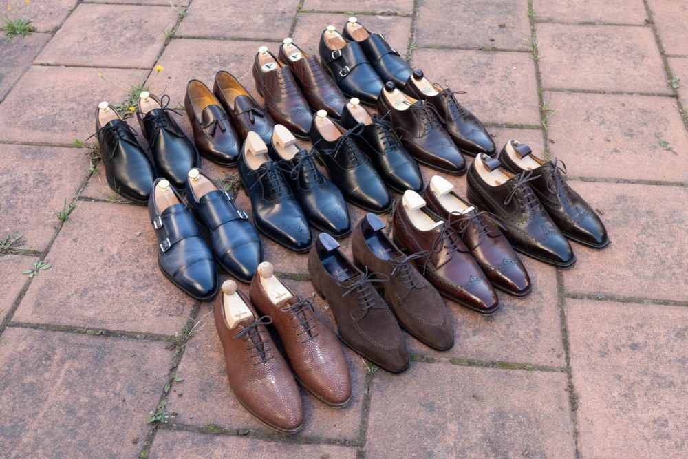 An overview of my Dress Shoes Collection
