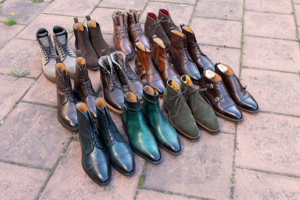 An overview of my Boot Collection