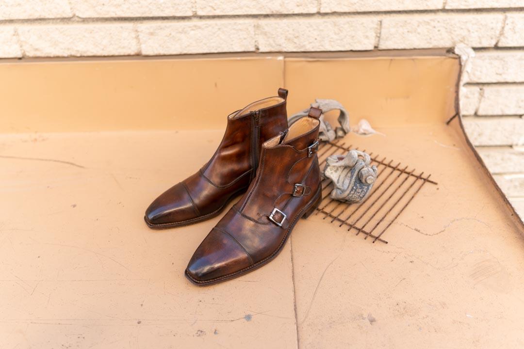 Cie Shoes Triple Monk Zip Boots
