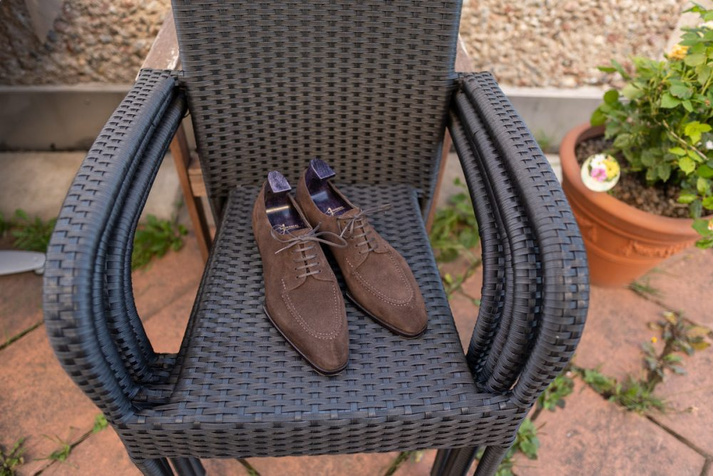 My Shoe Collection 2021   Yeossal Thomson Suede Derby