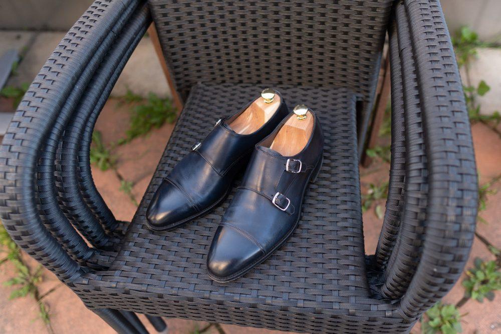 My Shoe Collection 2021   Carlos Santos Double Monks In Norte