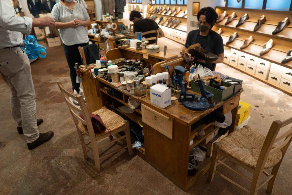 stefano bemer shoes workshop