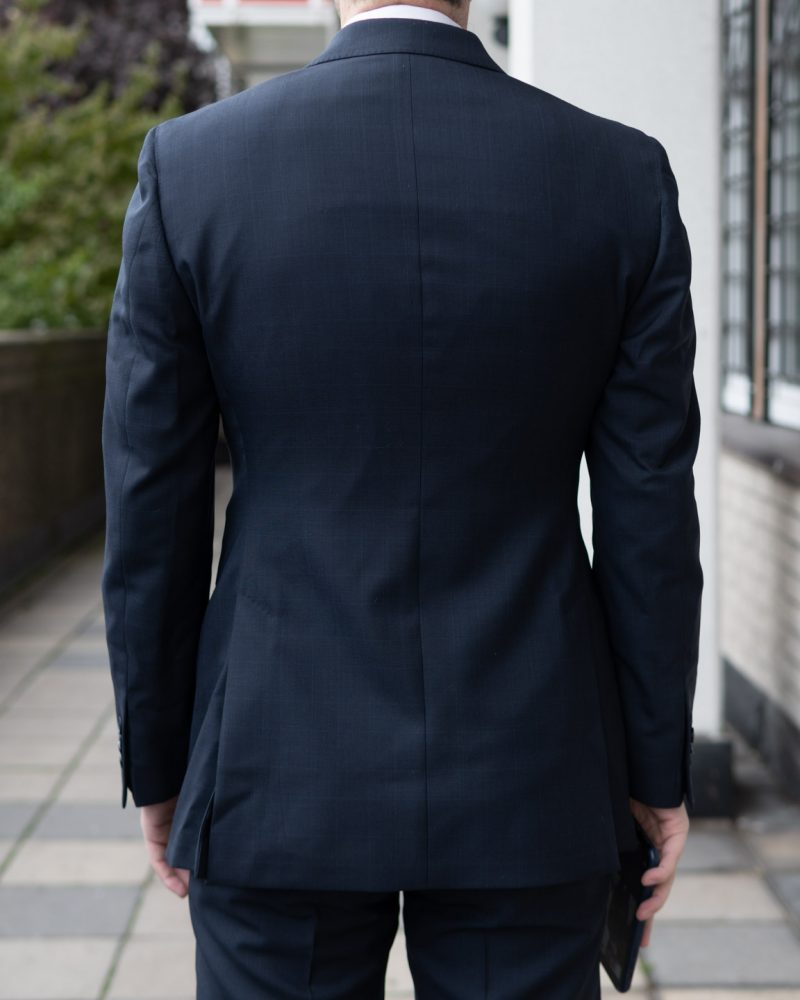 Lanieri Suit Review Back of Jacket
