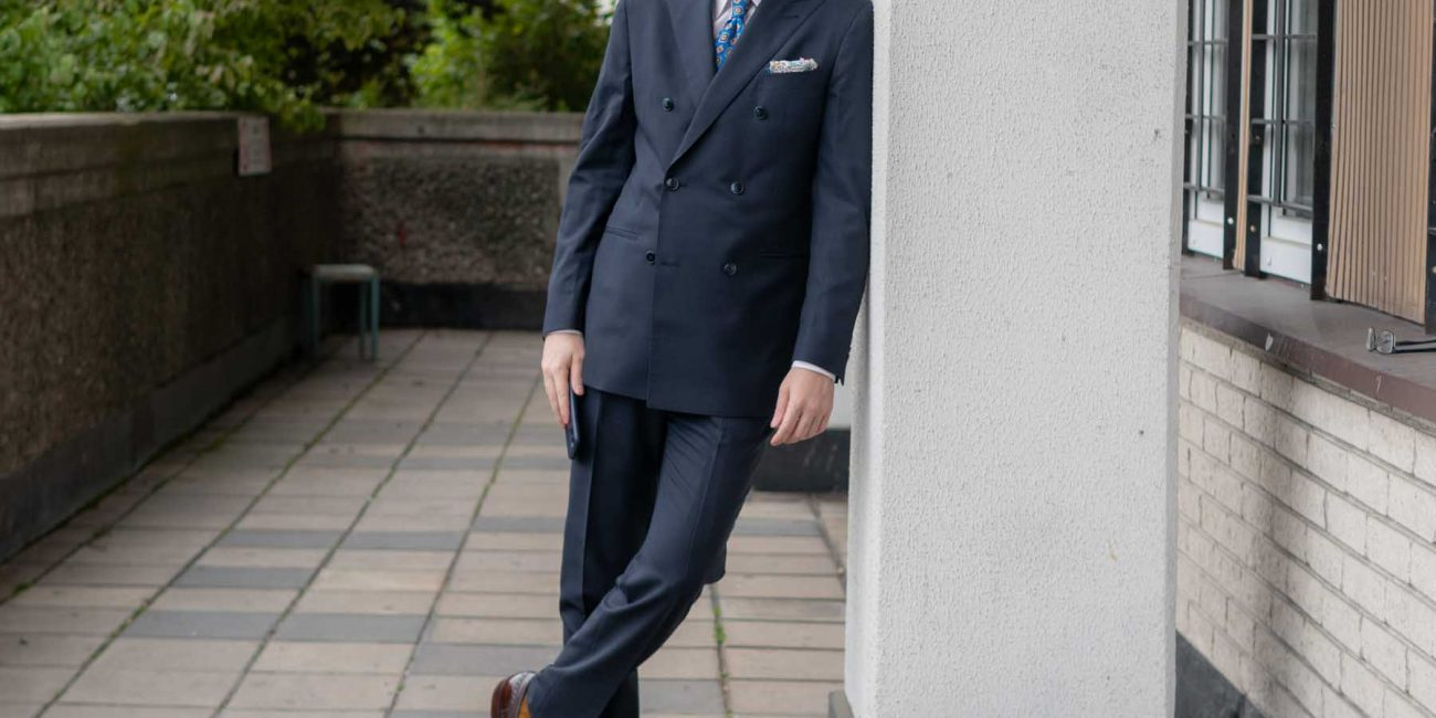 Lanieri Suit Review Navy Blue