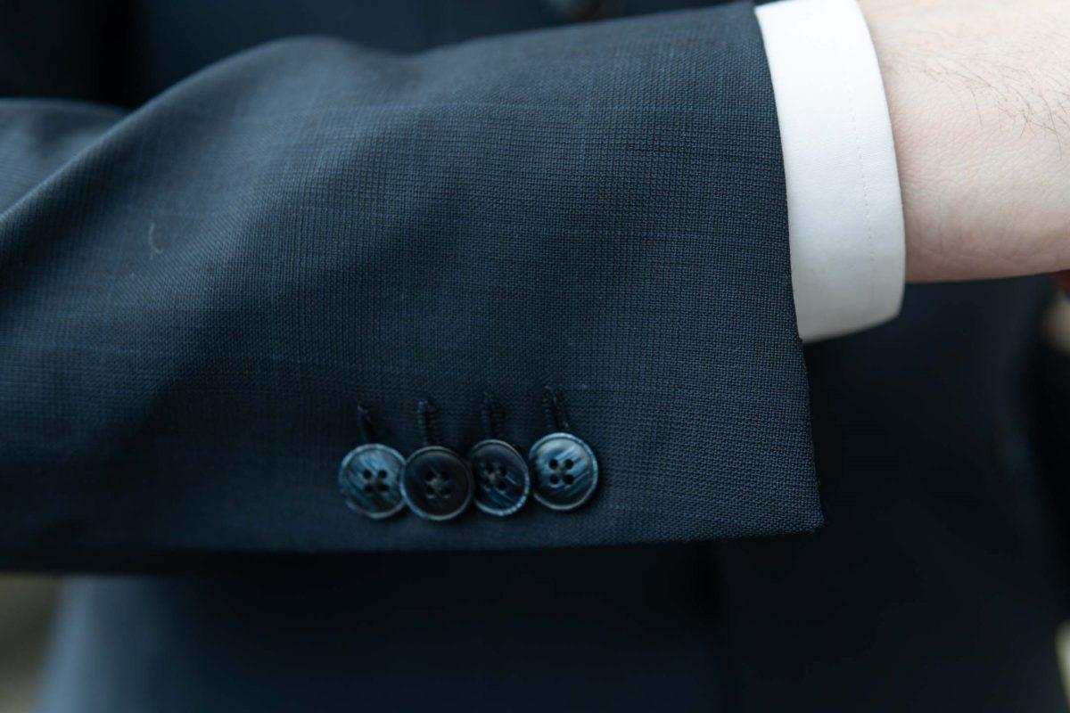 Midnight Blue Buttons